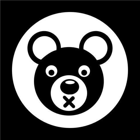 Bear pictogram