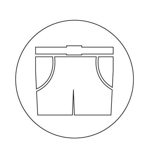 Men Bermuda shorts icon