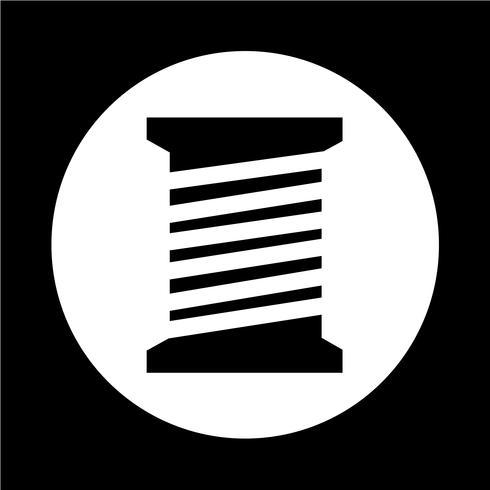icône de canette de fil sur mesure