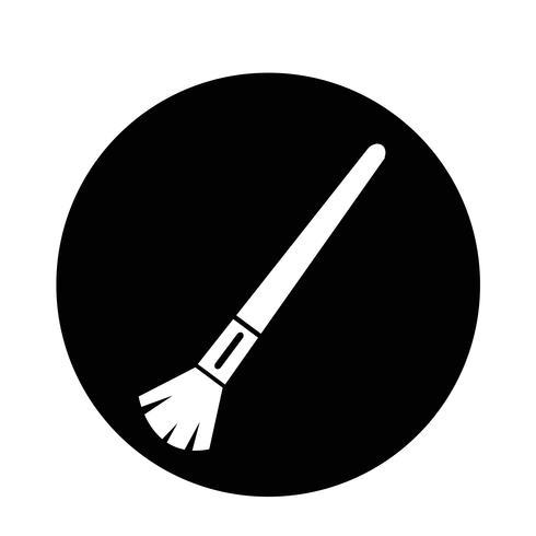Kosmetikpinsel-Symbol
