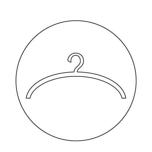 Hanger pictogram