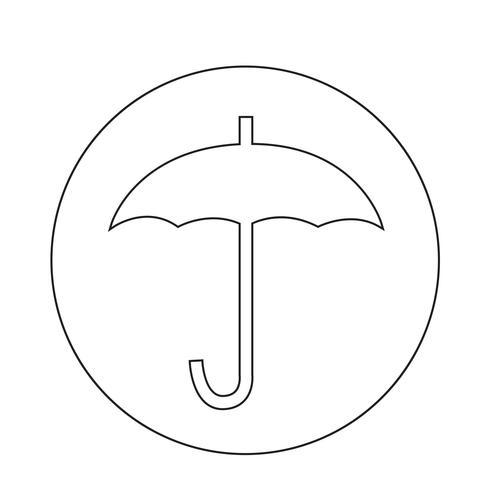 icona fragile vettore