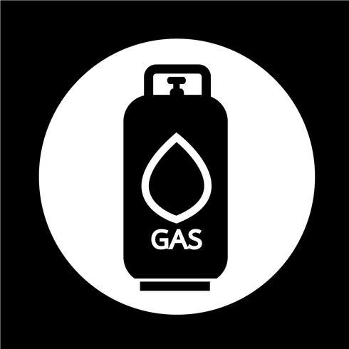 Liquid Propane Gas icon vector
