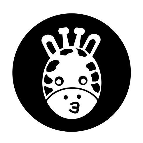 Ícone de girafa