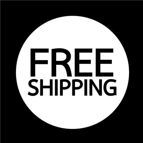 Icono de envío gratis
