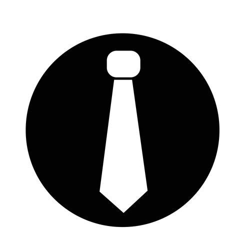 stropdas pictogram vector