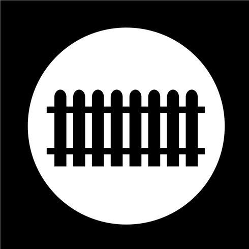 ícone de cerca