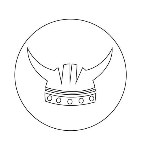 Viking helm pictogram