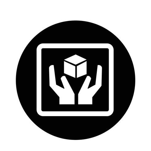 ícone frágil