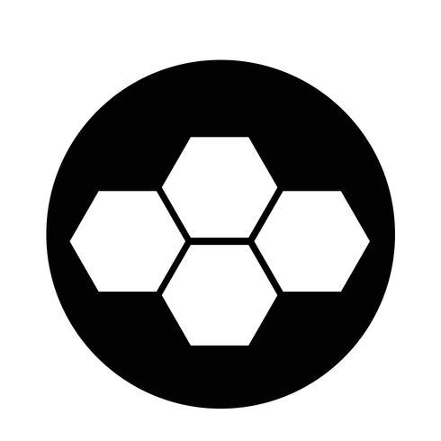 Icône de peigne de miel