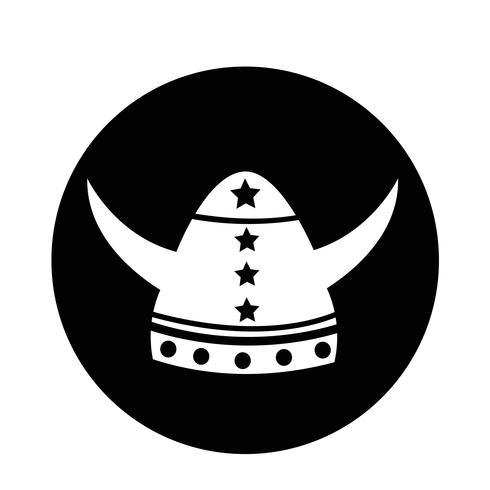 Icona del casco vichingo