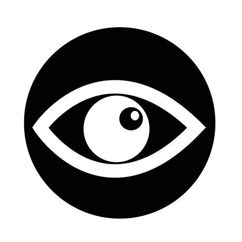Ícone de olho vetor