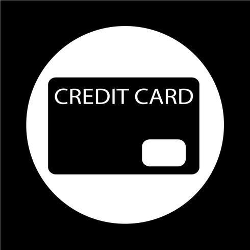 Icono de tarjeta de crédito vector