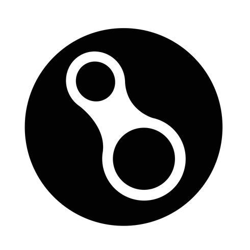 icona del moschettone vettore
