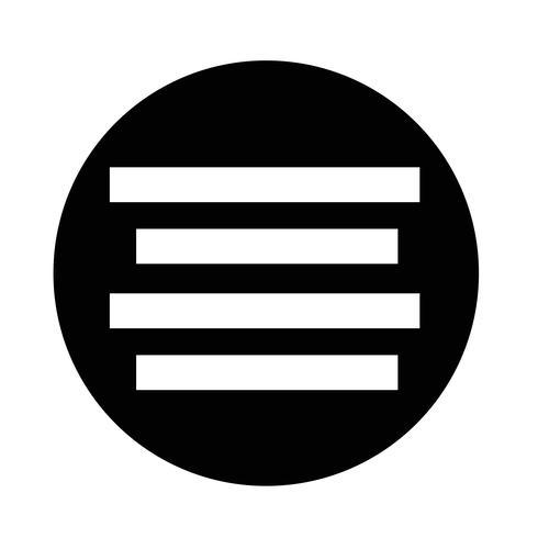 Align Text  icon
