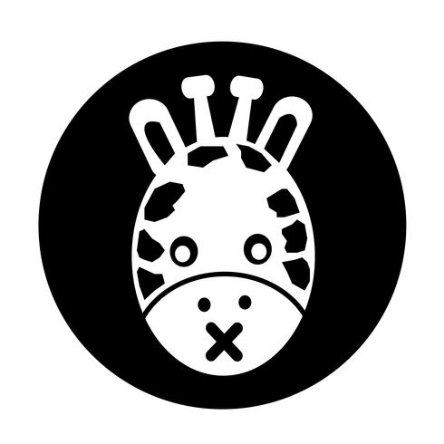 Girafe icône