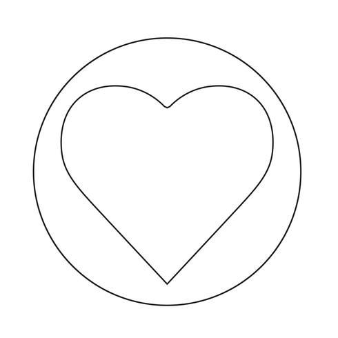 Herz-Symbol vektor