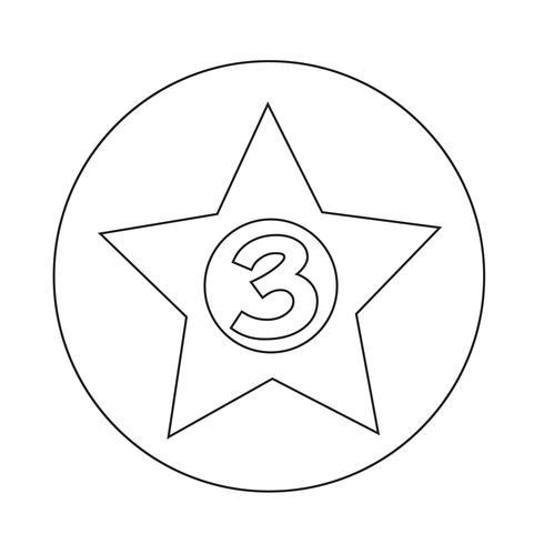 3 estrelas Hotel Icon