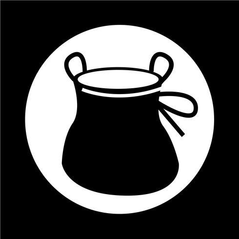 Chalk Bag klim pictogram