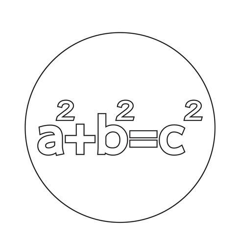 Icona del teorema di Pitagora