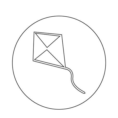 Ícone do papagaio vetor