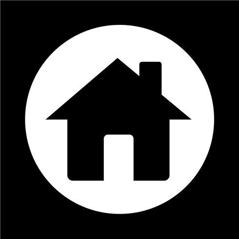 icône de la maison