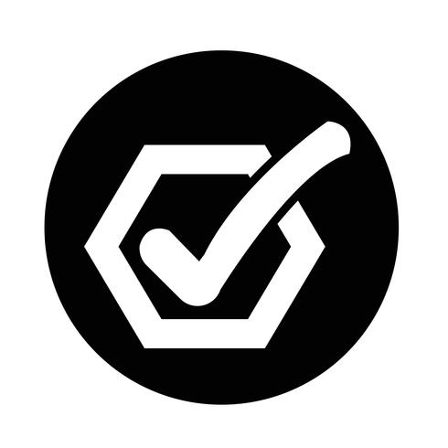 Controlla l'icona del pulsante elenco