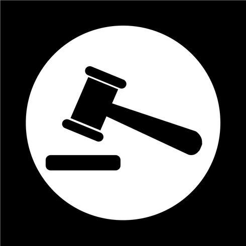 Auktions-Symbol vektor