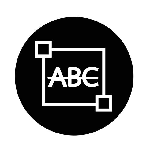 Tachado Ícone de letra de edição de texto