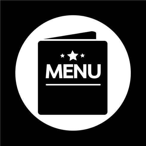 icône de menu vecteur