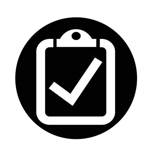 checklista ikon