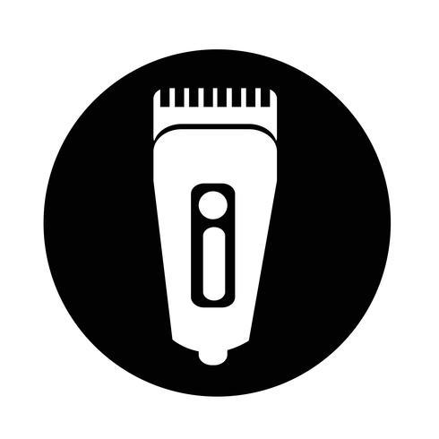 Ícone de barbeador de símbolo de barbeador