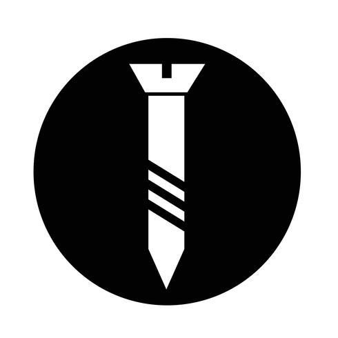 icona della vite vettore