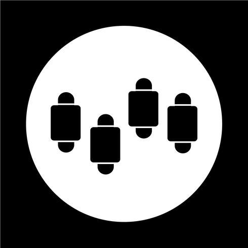 Einfaches Diagramm Diagrammsymbol