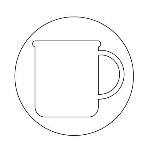 kopje thee koffie pictogram