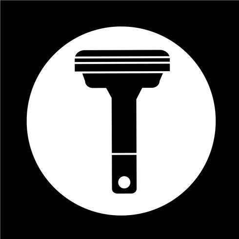 Rasierer-Symbol