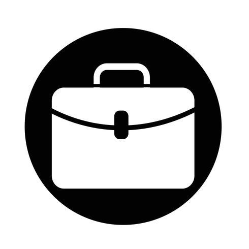 Icono de maletín vector