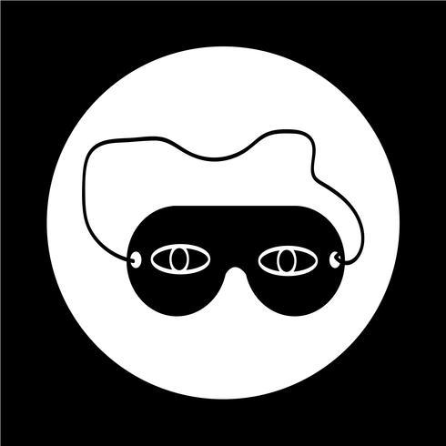 icône de masque de sommeil