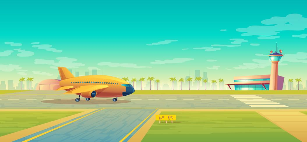 Vektorlandebahn für Flugzeuge, Anschluss nahe