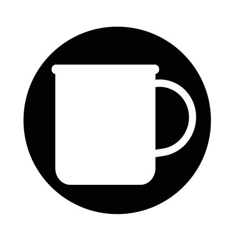 taza de cafe icono de cafe vector