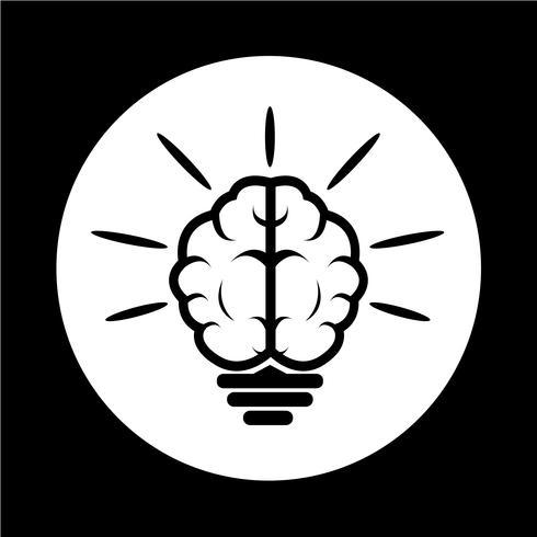 Gehirn-Symbol
