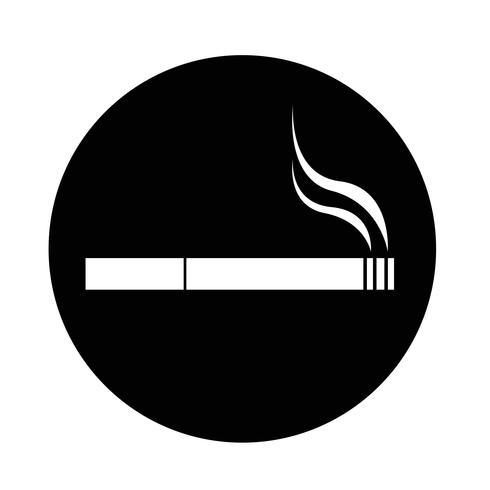 Icono de cigarrillo vector