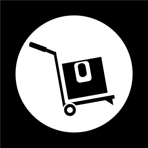 scatola Icona logistica