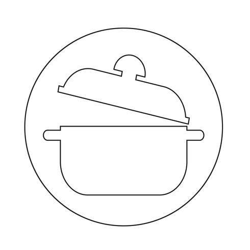 icône de la casserole