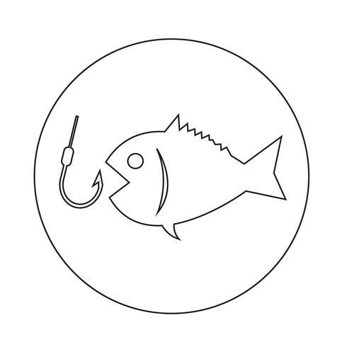 Icona di pesca