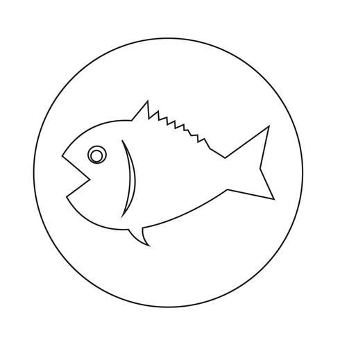 Fischerei-Symbol