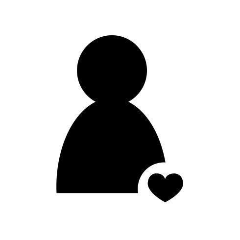Signe de l'icône de personnes vecteur