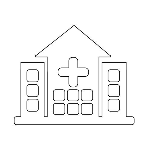 Sign of  Hospital icon