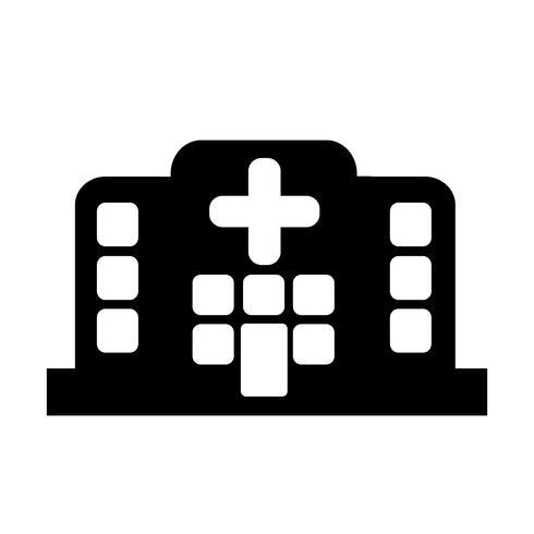 Teken van ziekenhuis pictogram