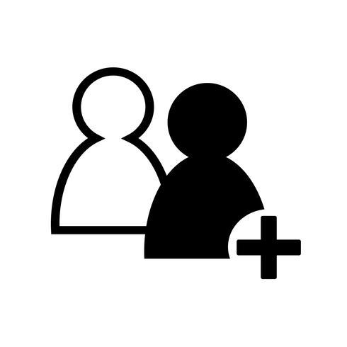Zeichen der Menschen-Symbol